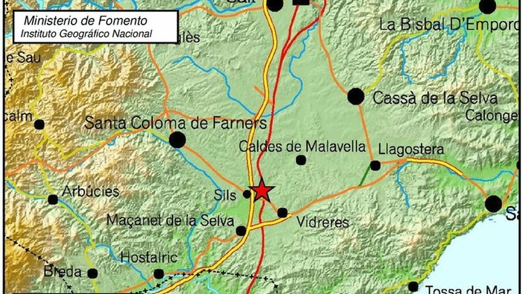 Terremoto Girona 04/09/2016