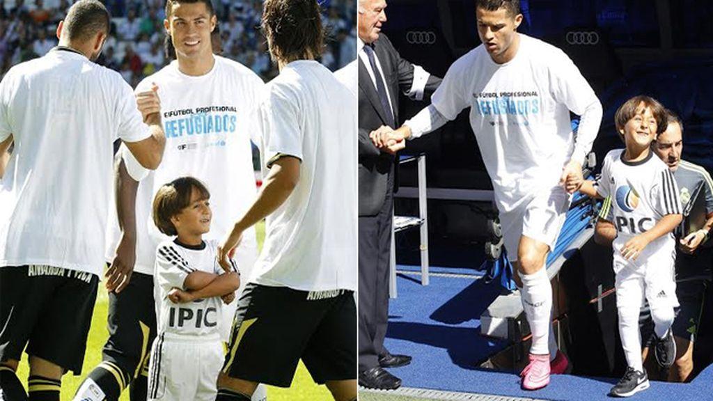 Cristiano Ronaldo y Zaid Abdul