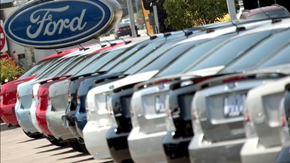 Con las ventas de la marca Volvo, que Ford puso a la venta, el grupo estadounidense vendió 155.195 unidades. EFE/Archivo