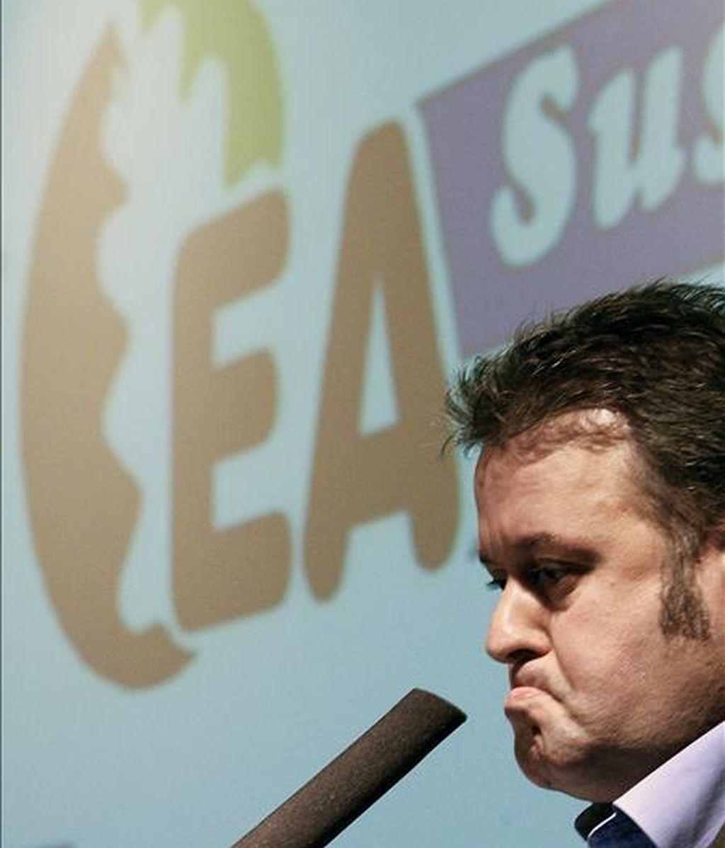 El presidente de EA en Guipúzcoa, Iñaki Galdós. EFE/Archivo