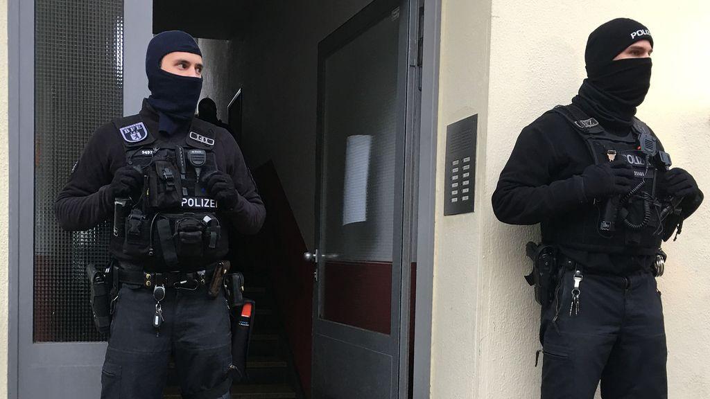 La policía alemana se pone manos a la obra frente al terrorismo