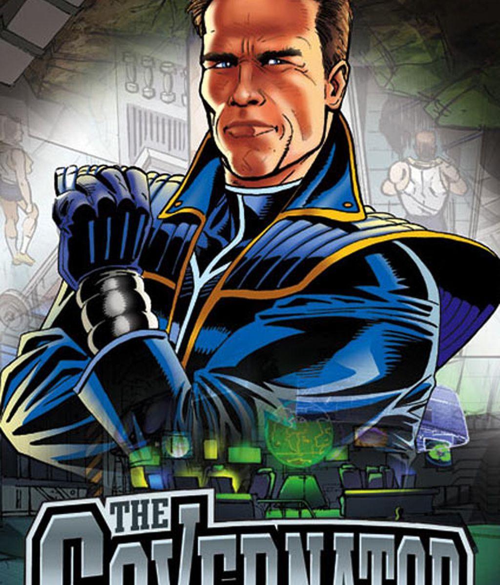 Adelanto del cómic que tendrá a Schwarzenegger de protagonista. Fotos: Entertainment Weekly
