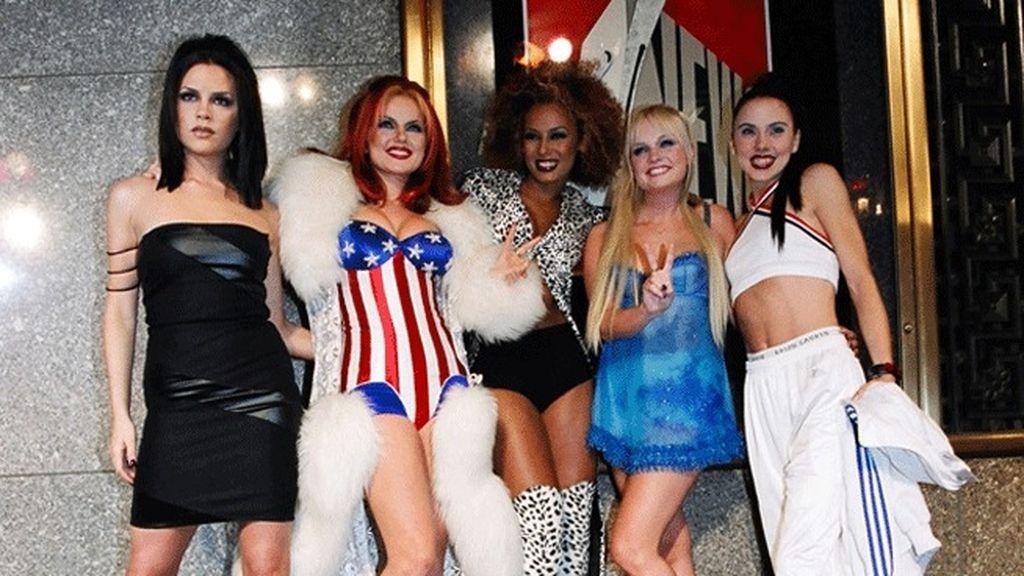 Spice Girls en los noventa