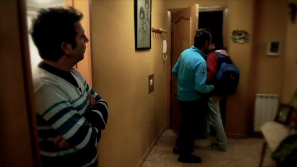 Las fotos del cambio de familia entre Gema y Gonzalo (T03xP05)