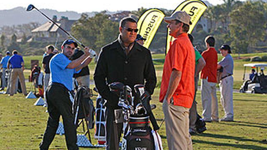 Un famoso jugador de golf es asesinado durante la celebración de un importante torneo