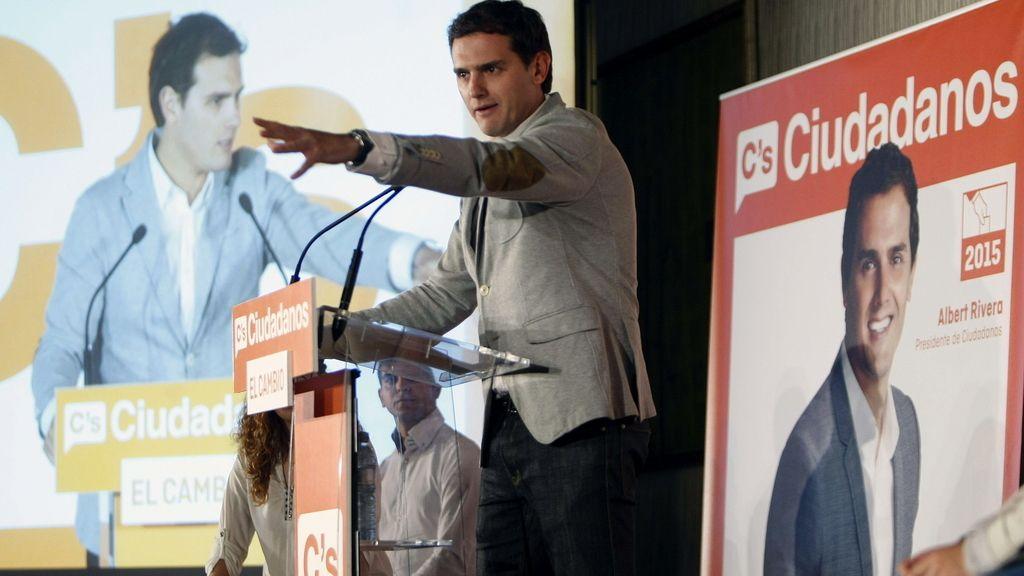 El líder de Ciudadanos, Albert Rivera