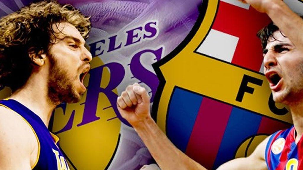 Barcelona-Lakers, los mejores del mundo juegan en Cuatro y Cuatro.com