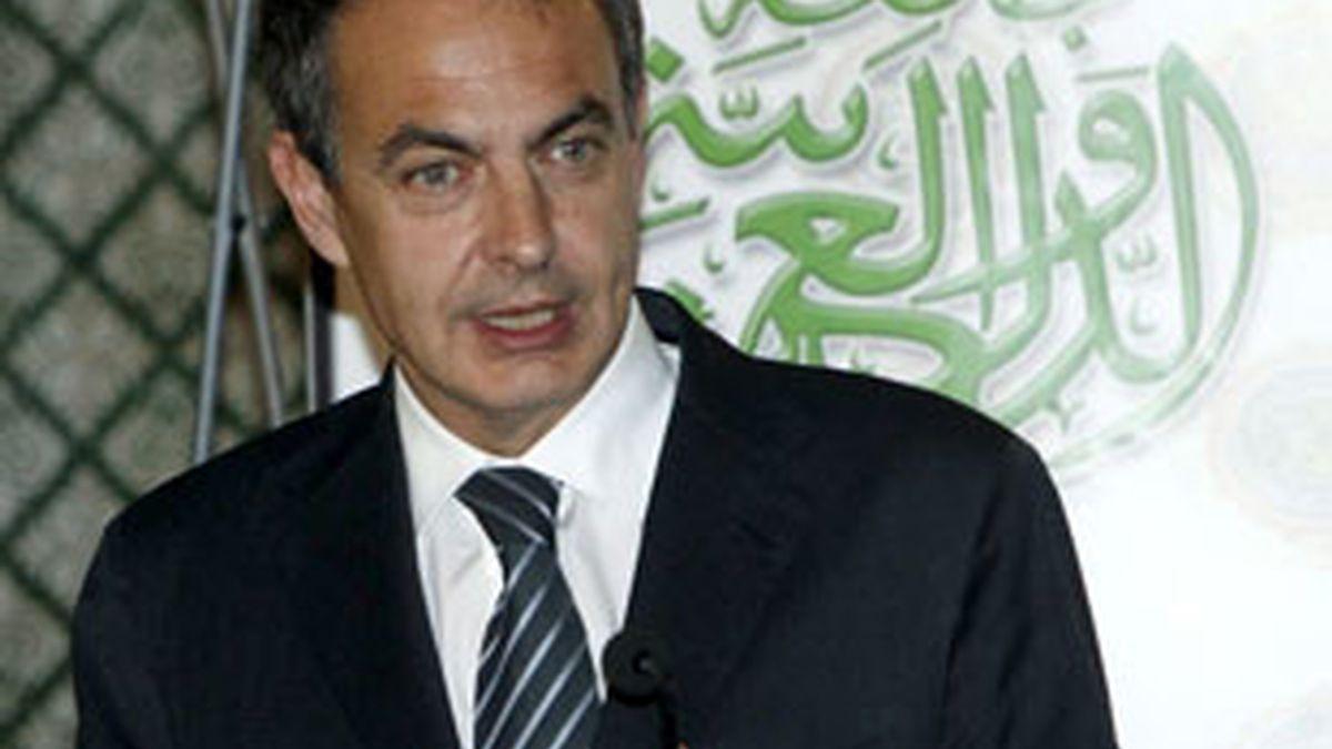 Imagen de archivo del presidente del Ejecutivo, José Luis Rodríguez Zapatero. Foto: EFE.