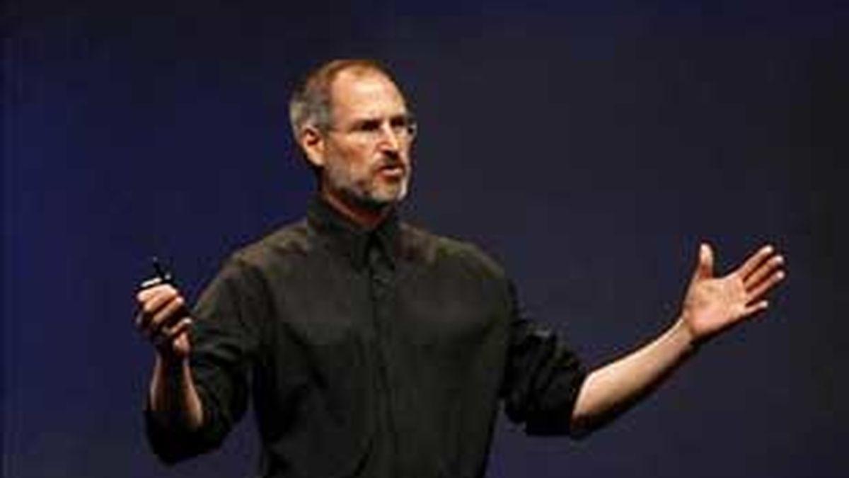 Jobs, el gurú de Apple. Foto: Archivo.