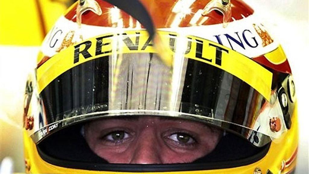 Alonso, durante los libres del GP de Malasia. FOTO: AP.