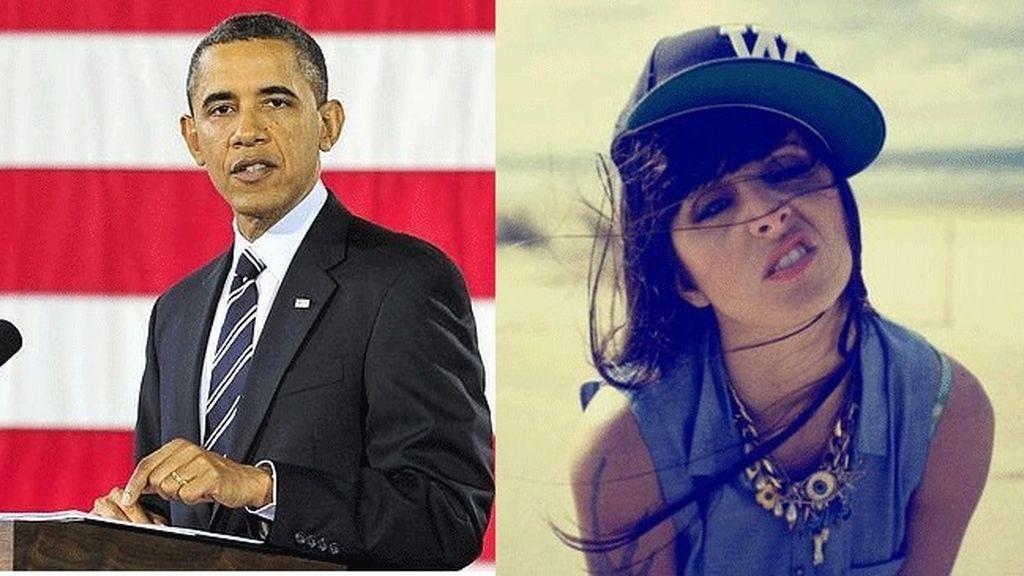 Obama escucha a la rapera española La Mala Rodríguez
