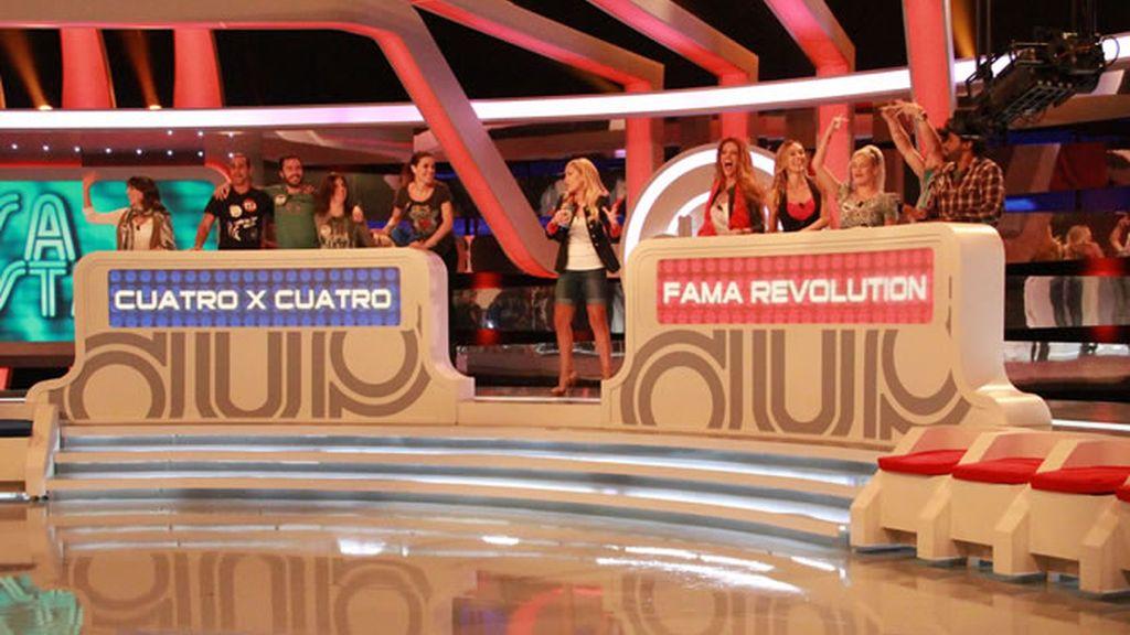 'Cuatro x cuatro' contra 'Fama Revolution'