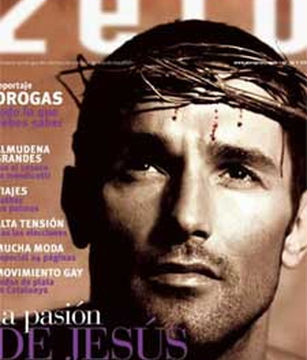 Jesús Vázquez en la portada de 'Zero'.