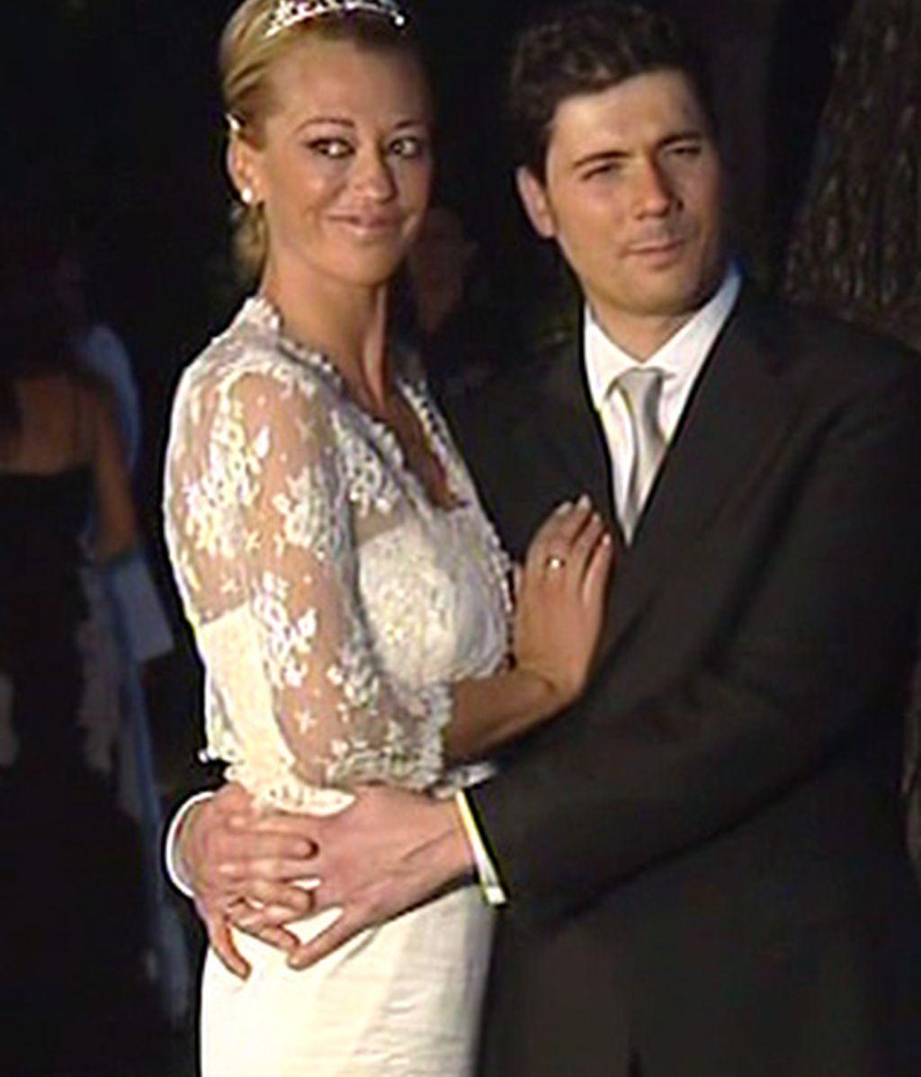 Una imagen de la feliz pareja