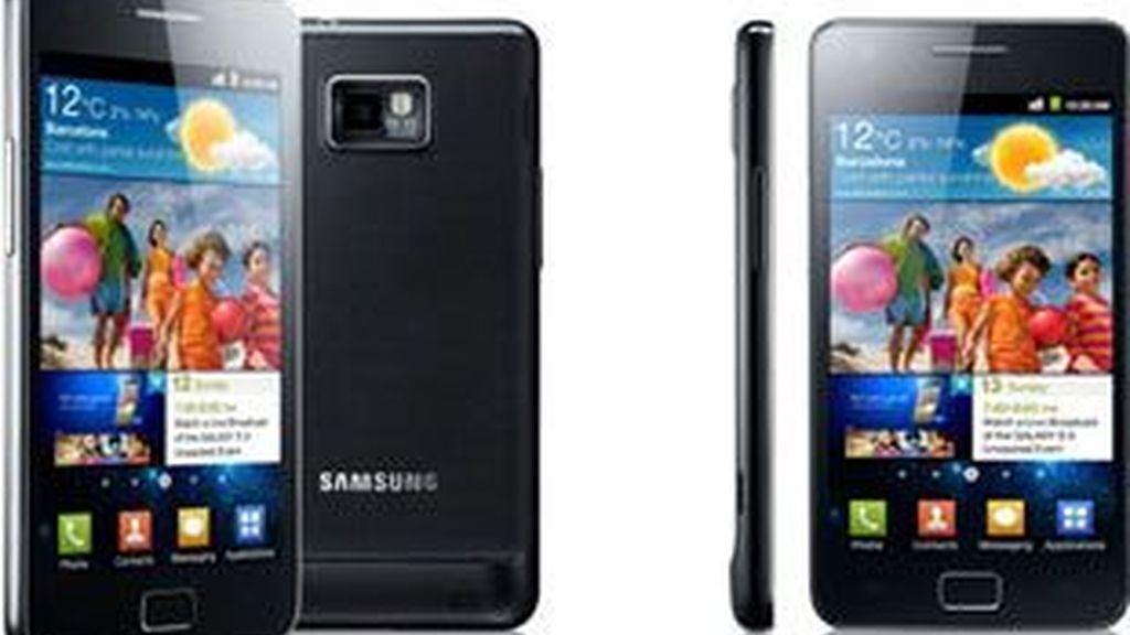 El Samsung galaxy II, uno de los modelos que según  Apple, la compañía surcoreana copió.