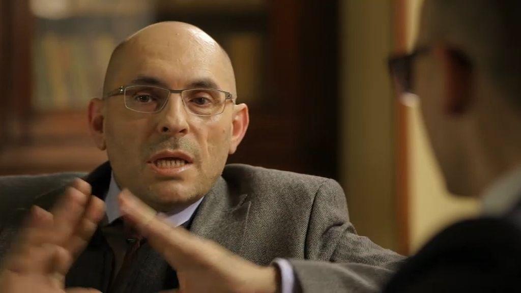 Elpidio Sílva, gesto a gesto con Risto Mejide