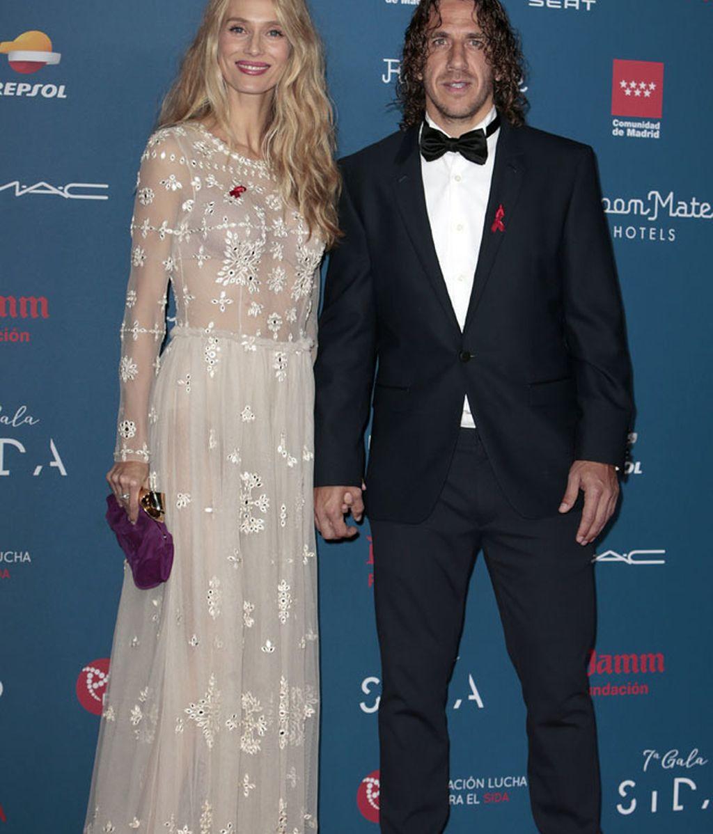 Vanesa Lorenzo y su marido Carles Puyol