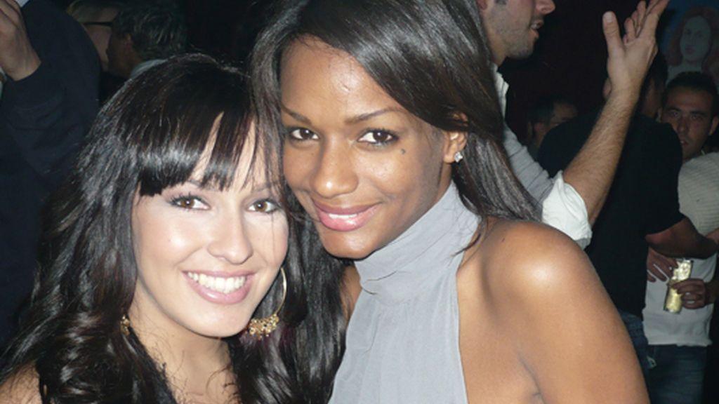 Gisela y Liz, de fiesta