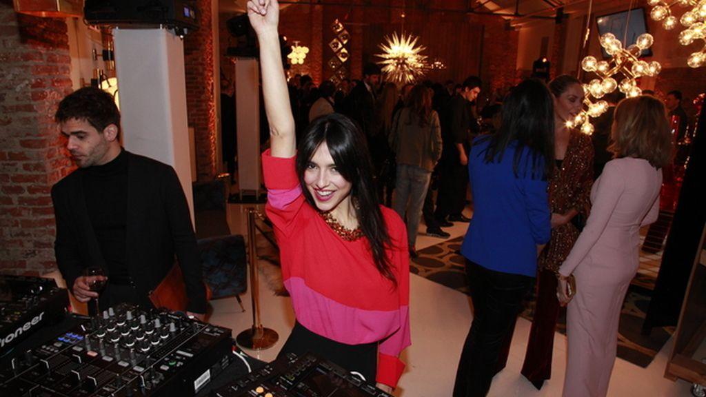 Cristina Brondo bailando nuestros hits