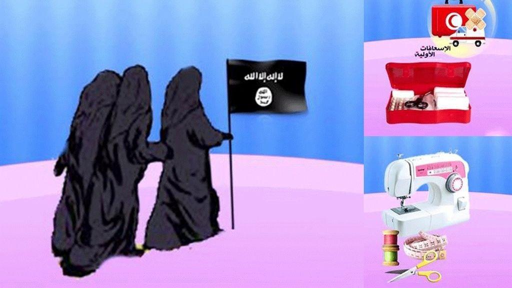 Estado Islámico aconseja cómo ser una buena esposa para un yihadista