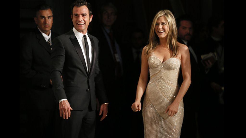 Jennifer Aniston y Justin Theoroux