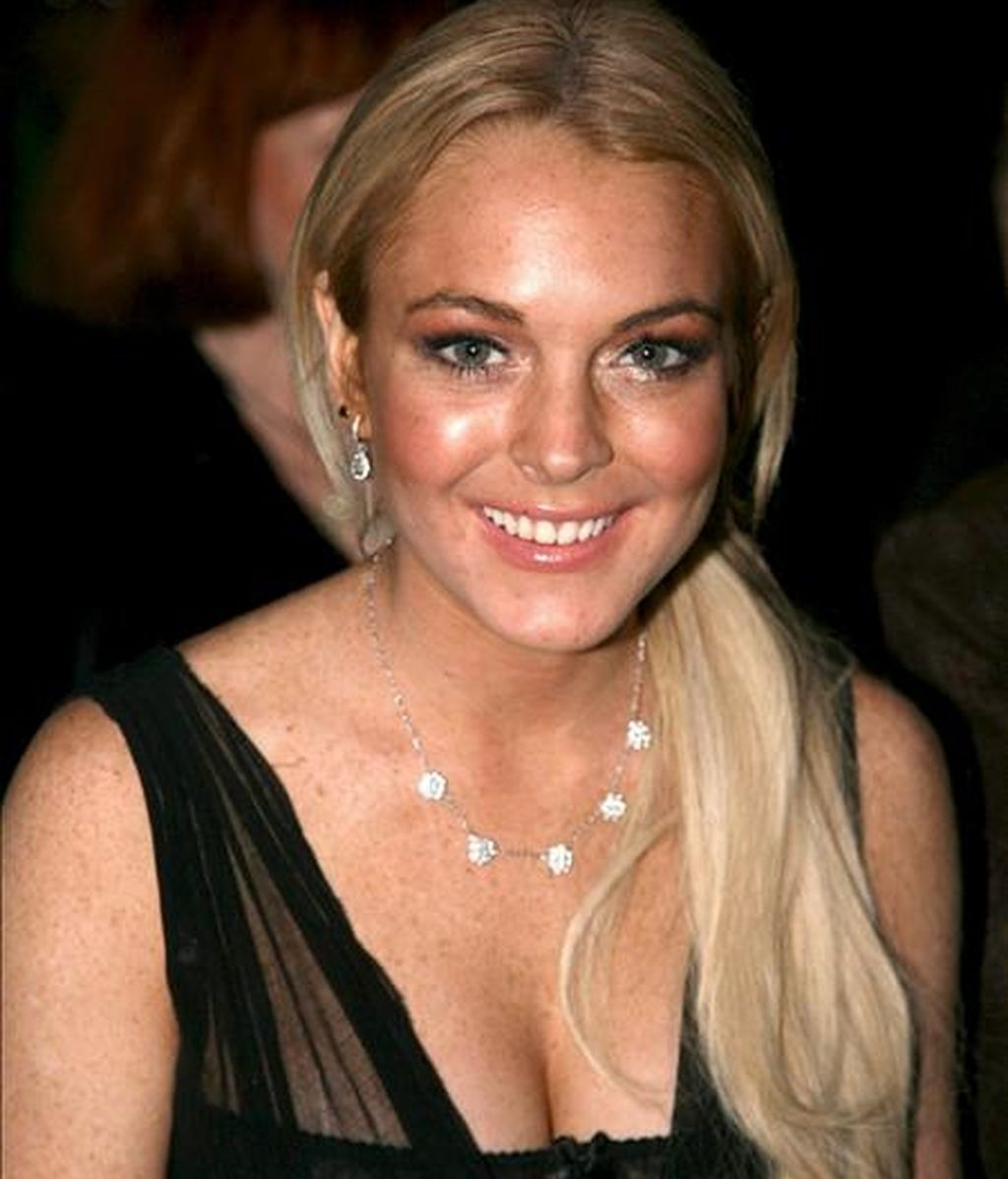 La actriz norteamericana Lindsay Lohan. EFE/Archivo
