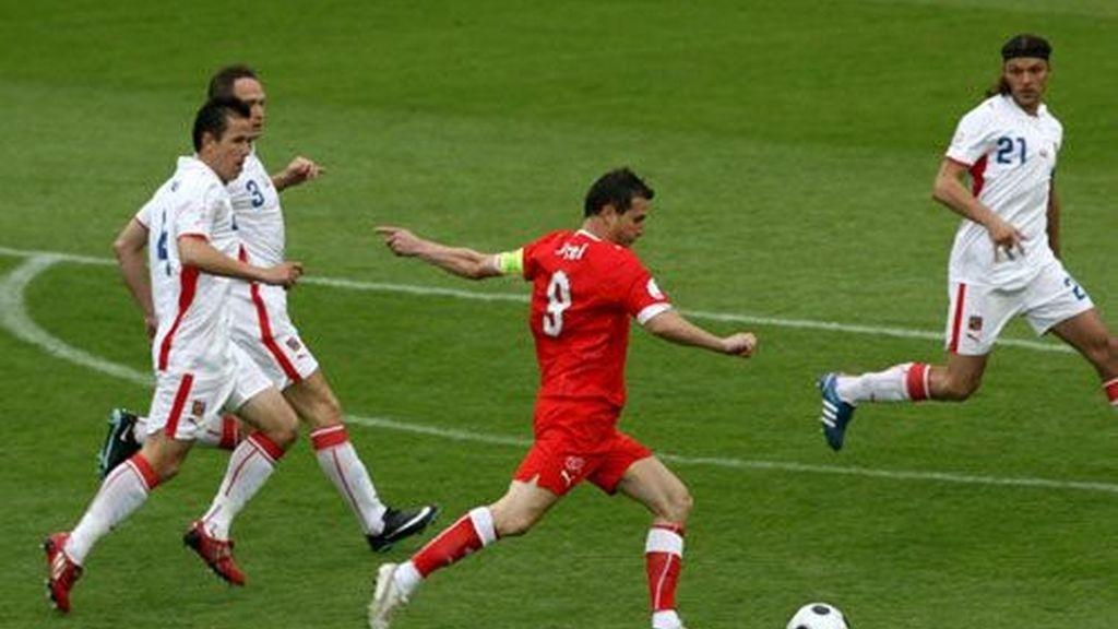 Suiza - República Checa (0-1)