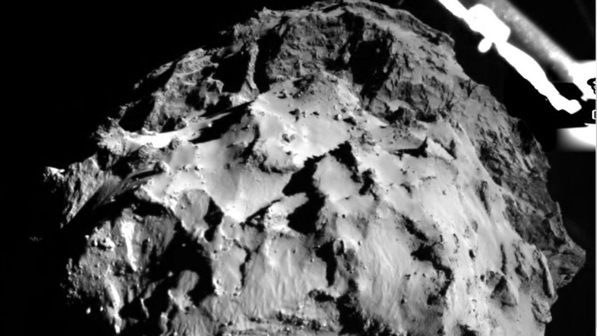 Descenso de la sonda Philae