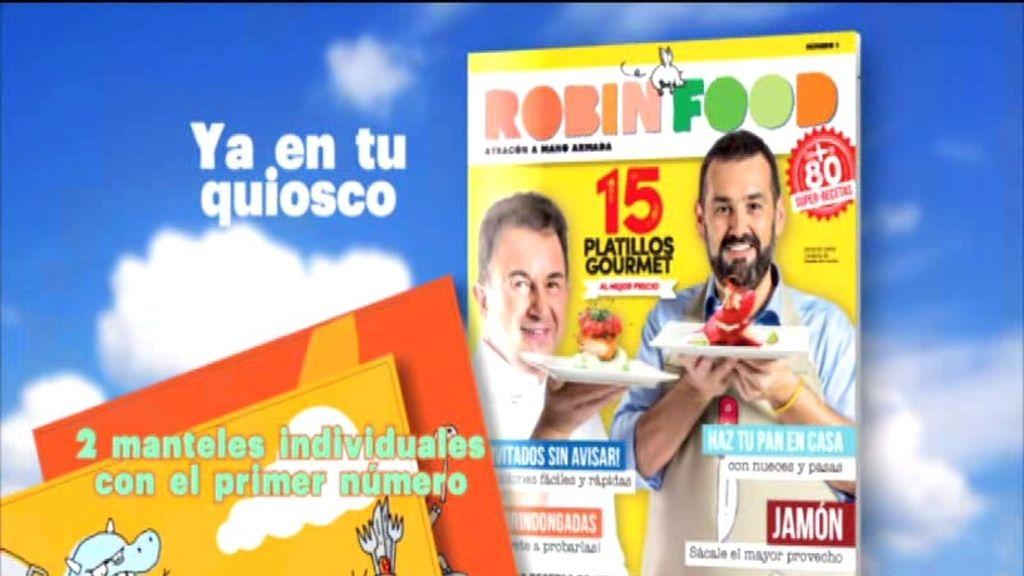 ¡Ya en tu quiosco la revista Robin Food!