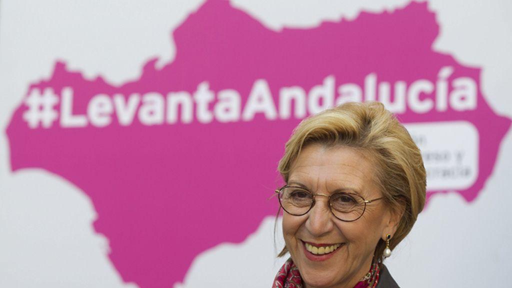 Mitin de Rosa Díez en Málaga