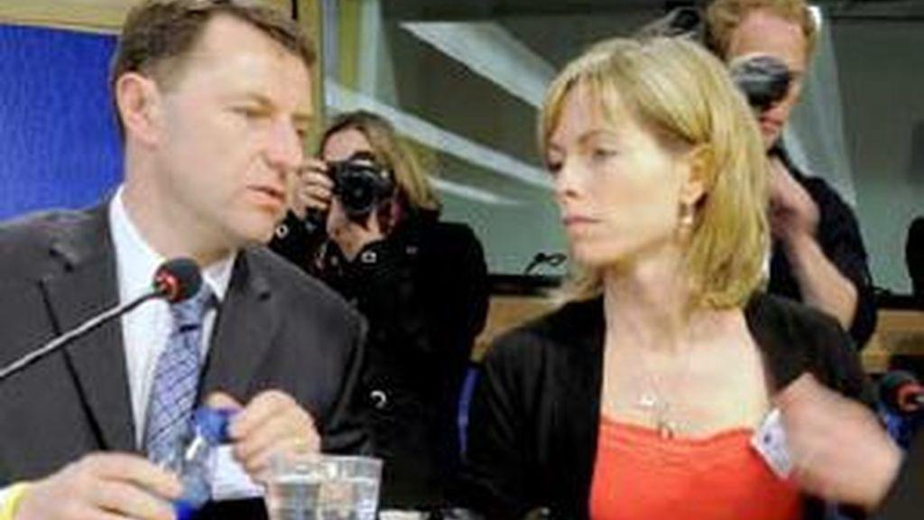 Los McCann en el Parlamento Europeo