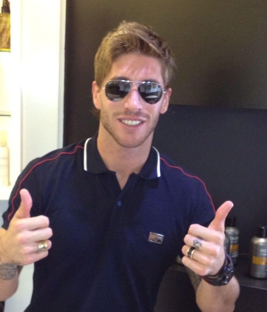 Nuevo look de Sergio Ramos