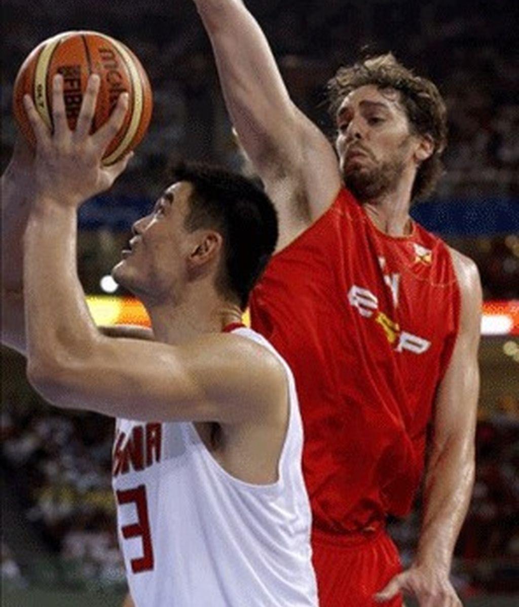 75-85. La selección española de baloncesto vence a China en la prórroga