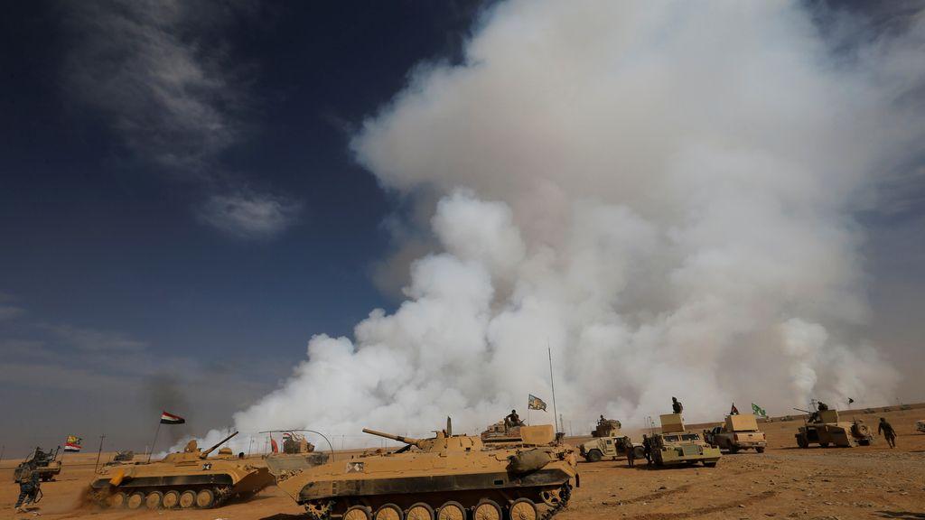 inteligencia iraquí en Mosul