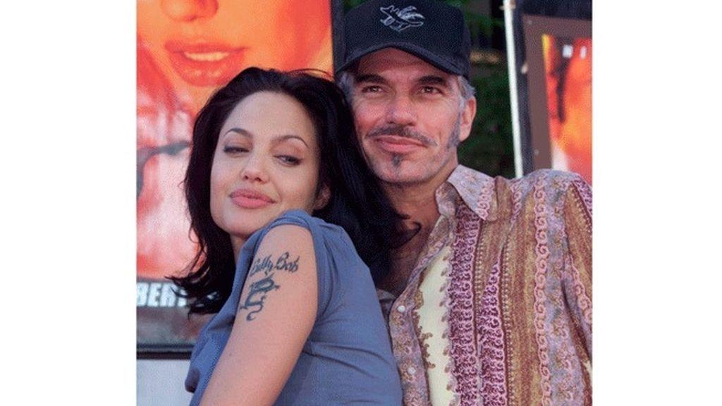 Angelina Jolie y Billy Bob Thornton
