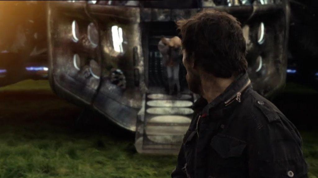 ¿Qué vio Tom en la nave de los alienígenas?