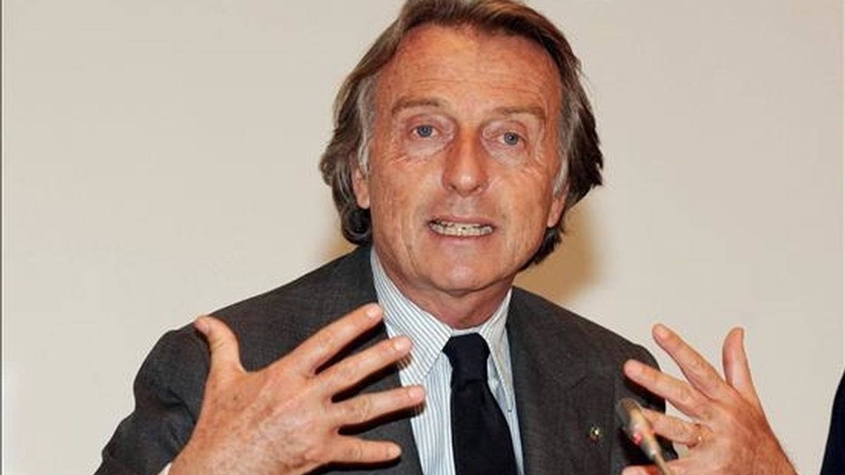 El presidente de Ferrari, Luca Cordero di Montezemolo. EFE/Archivo