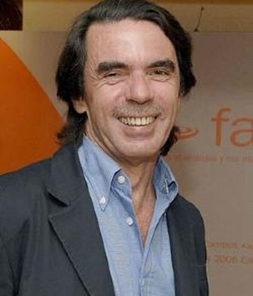 Aznar asegura que se malinterpretaron sus palabras. Foto: EFE