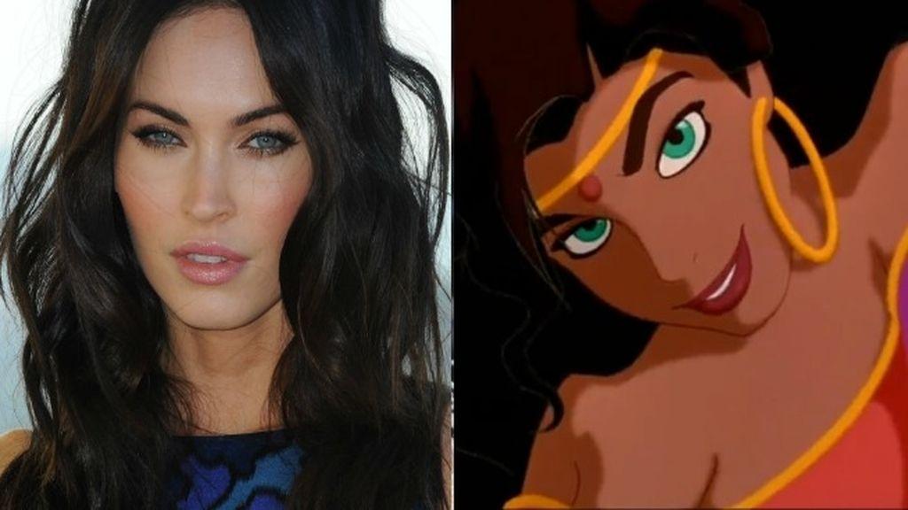 Ojos verdes, melena morena, piel bronceada... Megan Fox enamoraría sin problemas a 'El Jorobado de Notre Dame'