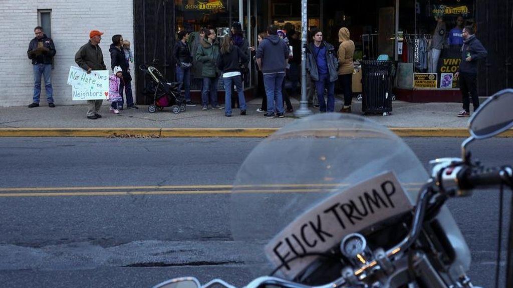Manifestaciones contra Trump