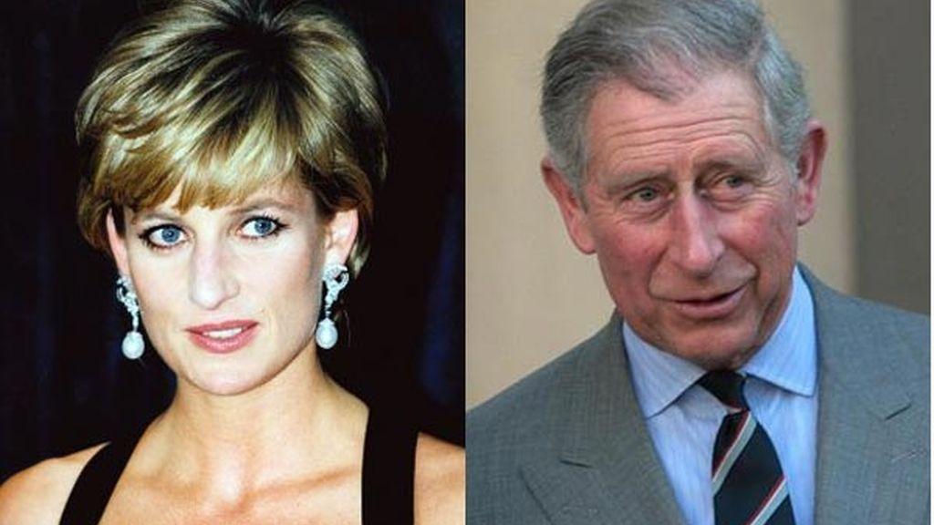 Diana de Gales y Carlos de Inglaterra
