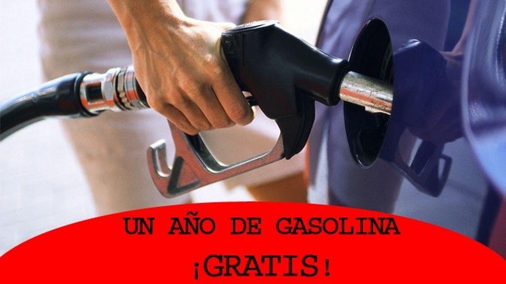 Gasolina durante un año GRATIS