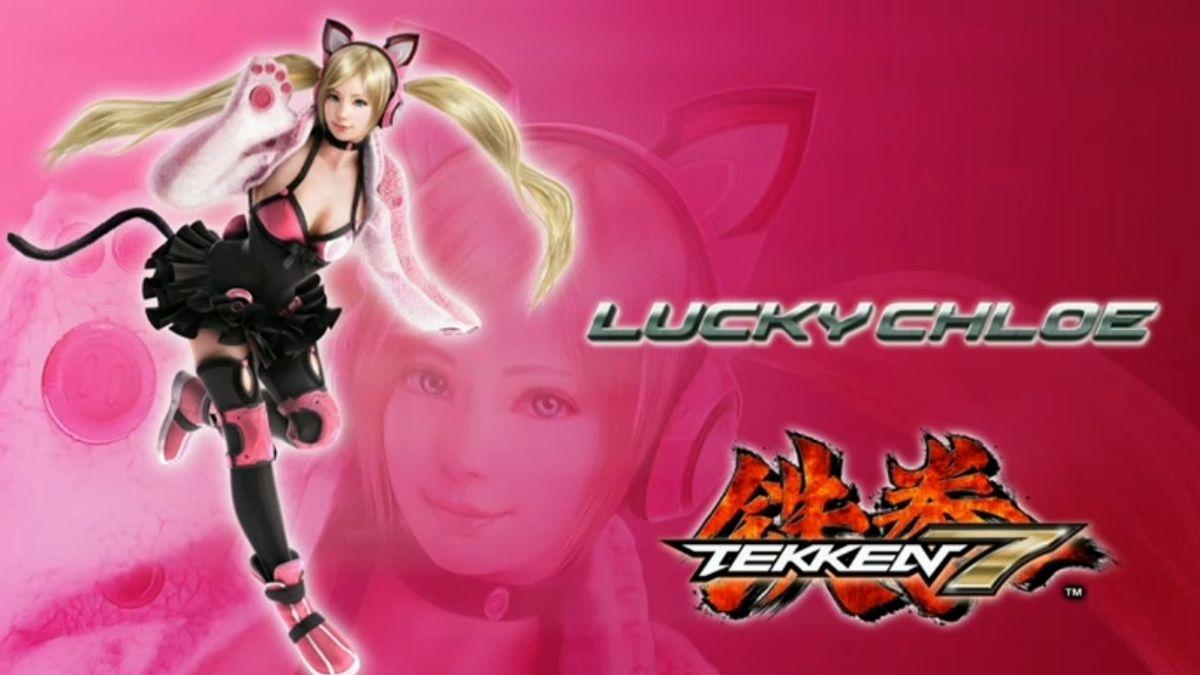 'Lucky Chloe', el controvertido personaje del nuevo 'Tekken 7'