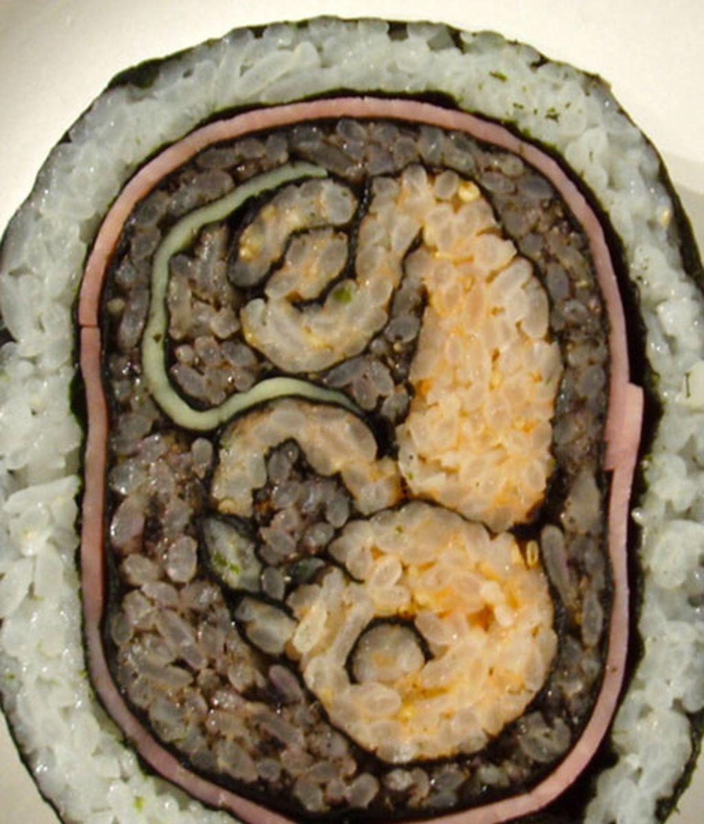 Arte en sushi