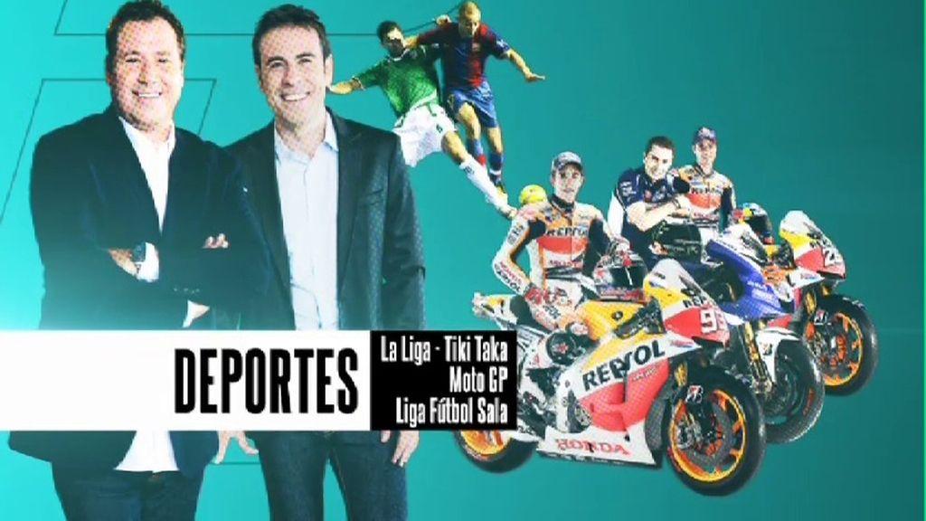Las tertulias de 'Tiki Taka' y la emoción de MotoGP marcan la agenda de  'Energy Sport'