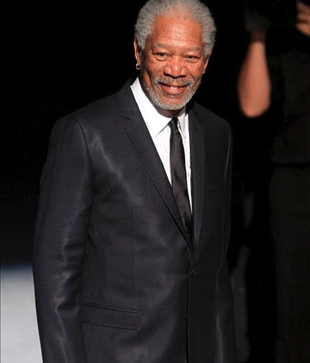 El actor estadounidense Morgan Freeman. EFE/Archivo