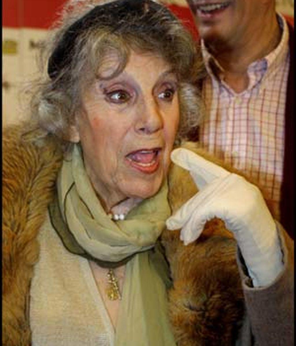 La actriz María Isbert en una imagen de archivo. Foto: Gtres