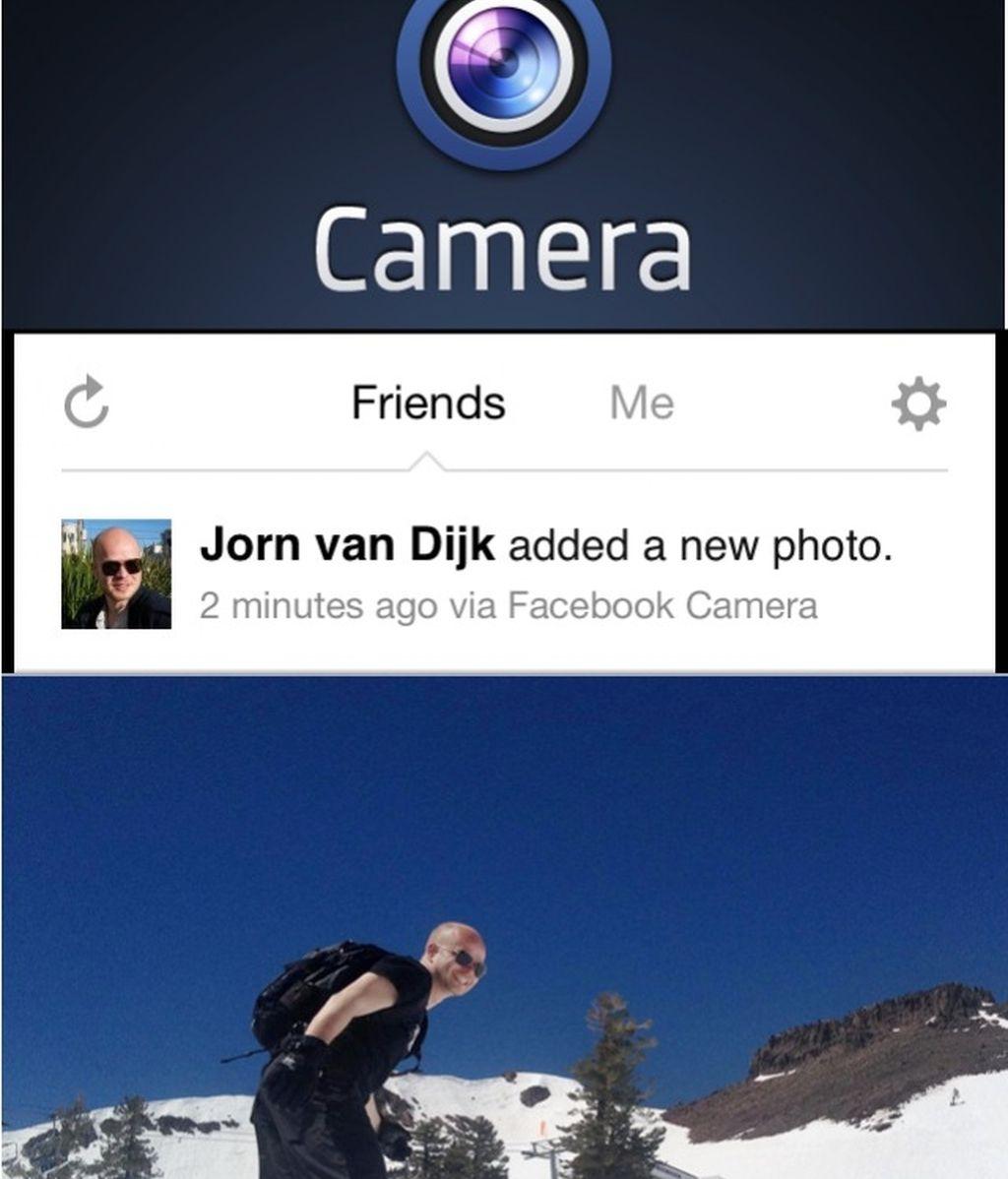 Facebook Cam llega al Iphone