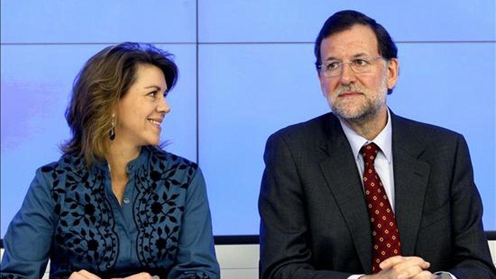 El líder del PP, Mariano Rajoy. EFE/Archivo