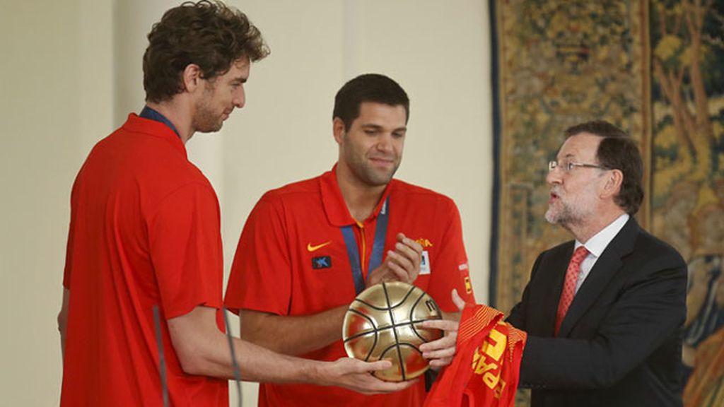 España celebra su  Eurobasket